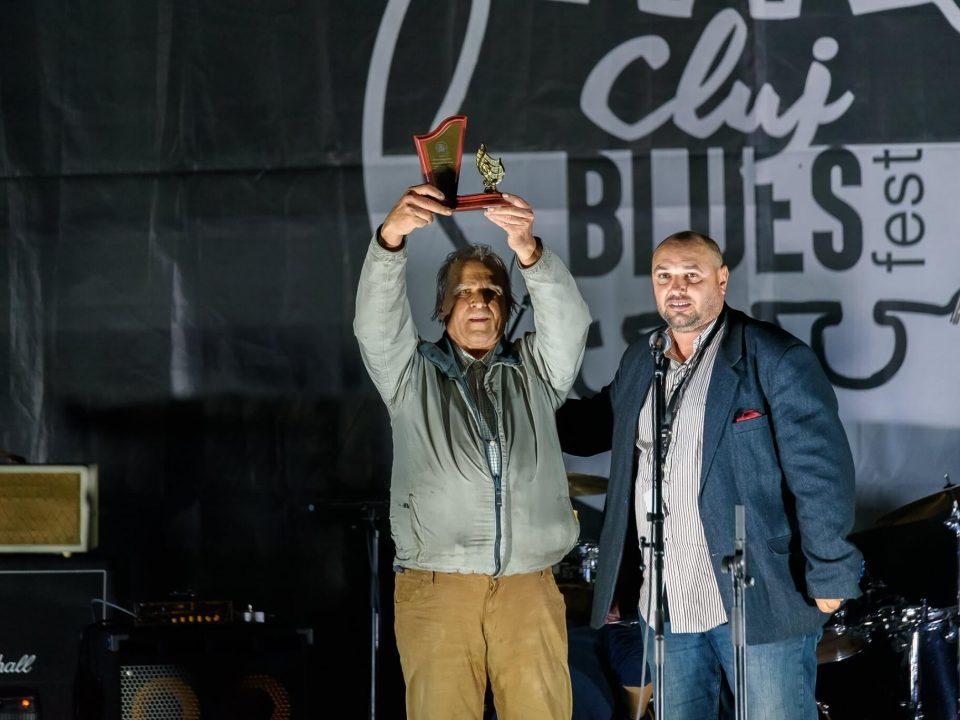 Rodion Rosca premiu Cluj Blues Fest 2019
